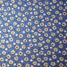 Daisys 1930's Reproduction Fabric Fat Quarter by cozylittlecorner, $3.25