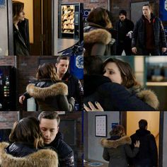 Lindsay: I heard on the scanner. Halstead: Erin, I'm okay. Is there word from Med on Terry? Lindsay: Not yet. Chicago Pd Halstead, Nbc Chicago Pd, Jay Halstead, Chicago Med, Chicago Fire, Becoming A Cop, Erin Lindsay, Chicago Justice, Sophia Bush