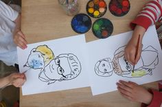 Make cool Father's Day art for Dad
