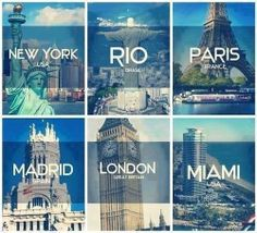 Paris for me <3 Where would you love to visit?