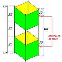 Barrilete caja de Matias Botbol, un plano de una cometa de 1 hilo hospedado en la categoría celulares de la KPB