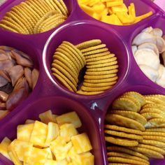 Lunchable Party Tray!  Great idea for end of the school year party!