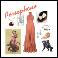 """Persephone - Greek Mythology"" by arsphidius on Polyvore"