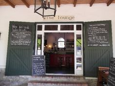 Bodega Restaurant, Dornier Wines, Stellenbosch - Wine Lounge Wines, South Africa, Cape, Garage Doors, Lounge, Restaurant, Outdoor Decor, Home Decor, Mantle