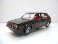 Diecast Schabak Volkswagen Golf GTI 1:43 No.1008 Black Mint in Box
