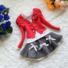 For if I have a little girl one of these days. Too cute!
