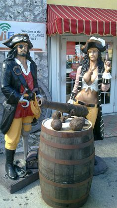 Pirates at Tortuga Rum Factory, industrial park, Grand Cayman, Cayman Islands. Awesome pies to be found here, including Rum Cakes.  http://www.antonswanepoelbooks.com