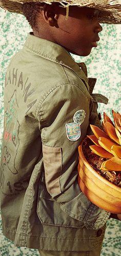 IKKS Army Jacket - IKKS zomercollectie 2015 | Olliewood baby en kinderkleding
