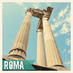 Roma en mayo.