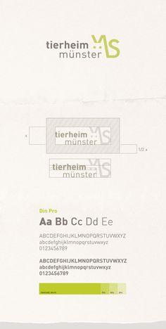 Tierheim Muenster Corporate Design on Behance