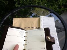 2015 REFILL CALENDAR FITS LOUIS VUITTON AGENDA PM COVER ~ Week on Two Pages #NotmanufacturedbyLouisVuittonoffbrand