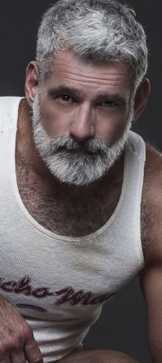 Older men muscular and hairy 55