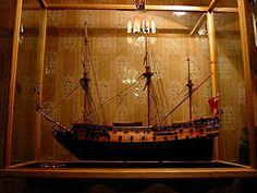 """HMS """"Resolución"""", el Reino Unido, 1667"""