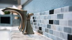 BATHROOM TRENDS 2018 – REMODEL YOUR BATHROOM IN STYLE! | 2018 BATHROOM TILE TRENDS | GOODBYE SUBWAY TILE! | One of the biggest trends of the new year comes from bold and unexpected tile accents in the bathroom, and you can now find functional bath tile in an incredible range of unusual shapes, patterns, and striking color schemes.