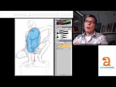 """Animation School - AnimSchool Classtime: Drawing With """"Force"""" - YouTube"""