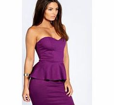 boohoo Sarah Sweetheart Peplum Dress - vibrant purple Up the glamour stakes with this gorgeous peplum dress http://www.comparestoreprices.co.uk/dresses/boohoo-sarah-sweetheart-peplum-dress--vibrant-purple.asp