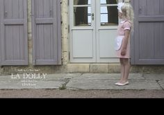 LA DOLLY 'THE WAITRESS DRESS' Linton® crepe & silk - made in Italy- light pink