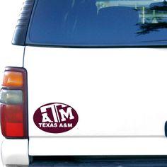 Texas A&M Aggies 5'' x 7'' Car Magnet - $3.99