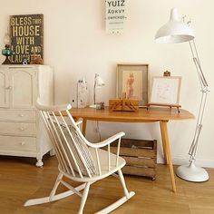 wohnideen arbeitszimmer home office büro - weiß büro zu hause mit ... - Wohnideen Small Arbeitszimmer