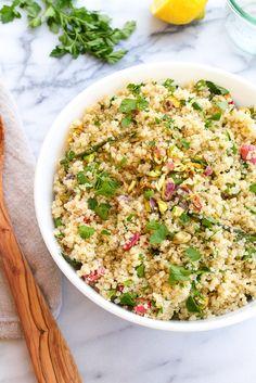 Spring Quinoa Salad #vegan #glutenfree