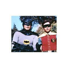 The Dynamic Duo Batman and Robin TV Poster Print Mini Poster ($4.99) ❤ liked on Polyvore featuring home, home decor, wall art, batman poster and batman wall art