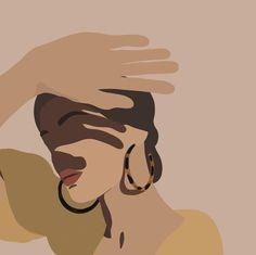 Portrait Illustration, Graphic Illustration, Woman Illustration, Graphic Art, Illustration Inspiration, Arte Sketchbook, Grafik Design, Minimalist Art, Aesthetic Art