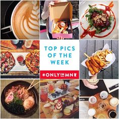 Discover delicious dishes and refreshing craft beverages that you can find #OnlyinMN.