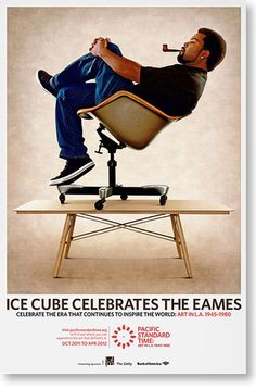 I can't believe this happened.... Ice Cube Celebrates the Eames, PST.