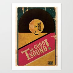 The Good Sound Art Print by ohzemesmo - $13.52