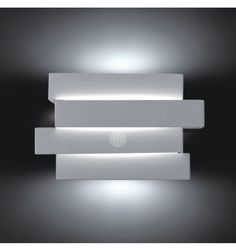 Applique murale LED ultra design London Blanc