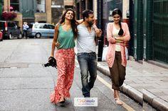 Bollywood Actors Deepika Padukone, Saif Ali Khan, Diana Penty | Upcoming Hindi movie 'Cocktail'