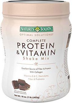 alternatives to shakeology...Nature's Bounty Protein Shake Mix, Decadent Chocolate, 16 Ounce
