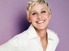 Ellen Degeneres Eyes | Ellen Degeneres With Makeup Ellen-degeneres
