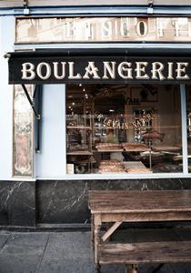 Du Pain et des Idees boulangerie on the Canal St. Martin uses 19th century baking techniques. If it ain't broke...