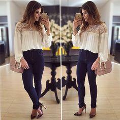 💙Sunday!! Calça e Blusa @hitoficial   #lookdodia #lookoftheday #ootd #selfie #blogtrendalert