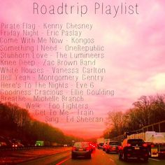 Road Trip Playlist!