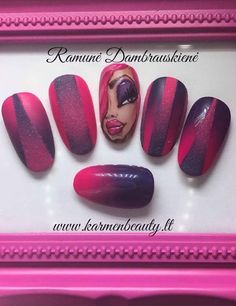Beautiful nail art designs that are just too cute to resist. It's time to try out something new with your nail art. Nails Design, Nail Art Designs, Modern Nails, Beautiful Nail Art, Nail File, Cool Nail Art, Red Nails, You Nailed It, Simple Designs