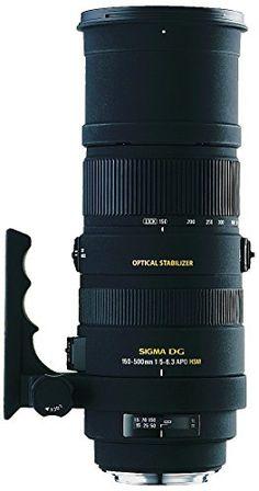 Sigma 150-500mm f5-6.3 Auto Focus APO DG OS HSM Telephoto Zoom Lens for Canon Digital SLR Cameras