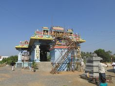 Happy to introduce this new temple on the net - on the very next day of its Kumbabhishek (inauguration)  Vengadamangalam  #IndianColumbus  http://indiancolumbus.blogspot.com/2016/03/vengadamangalam.html