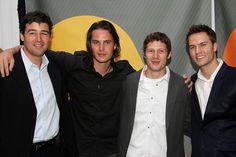 Kyle Chandler, Taylor Kitsch, Zach Gilford and Scott Porter