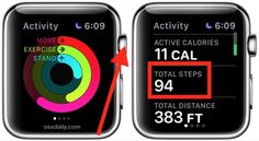 How to Use the Pedometer on Apple Watch to Count Steps & Distance Accessing the Pedometer Step Counter on Apple Watch Apple Watch Hacks, Apple Watch 38, Apple Watch Iphone, Apple Watch Series 2, Apple Watch Vs Fitbit, Apple Watch Fitness, Fitbit App, Apple Watch Fashion, Apple Watch Wallpaper