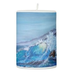 #Wave Candle - #candle #candles #special #custom