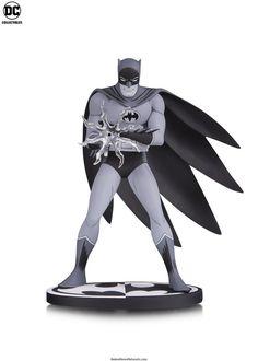傳奇漫畫作品BAT-MANGA 立體化!! DC Collectibles 蝙蝠俠黑白雕像系列【蝙蝠俠 by 桑田次郎】Batman Black and White: Batman by Jiro Kuwata Statue   玩具人Toy People News