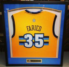 Custom framed Kenneth Faried  denvernuggets jersey! Framed by FastFrame of  LoDo.  denver 8ed285a08