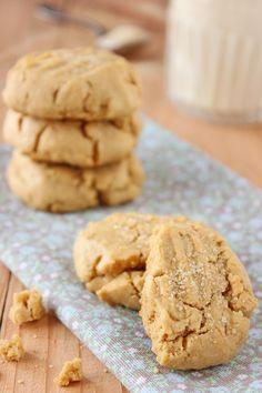 giroVegando in cucina: Biscotti al burro d'arachidi
