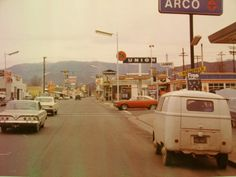 59 VW Bus, drove it 70-72, got me to Rogue Valley, built a bed in back, great hippie van - no flowers on it.