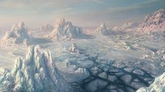 Environment__ICE_SCAPE_by_I_NetGraFX