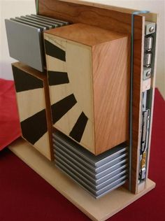 make your own wooden pc case