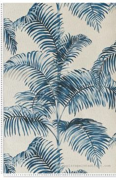 Papier peint bleu | Papierspeintsdirect Bleu Nature, Lock Screen Wallpaper, Decoration, Plant Leaves, Exotic, Surfing, Colours, Plants, Collection