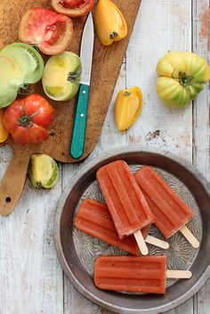 Bloody Mary Popsicles